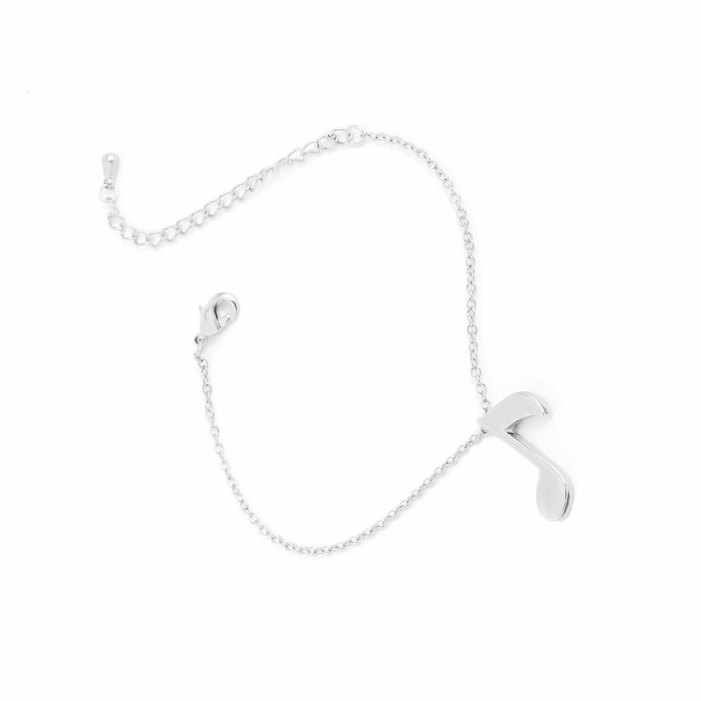 30PCS Delicate Musical Note Bracelet for Women Love Music Note Symbol Charm Bracelets Party Gift B006(China (Mainland))