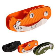 Alluminio di alta qualità supporto chiave per caso nero organizer cartella clip portachiavi keysmart edc della tasca strumento porta chaves p4pm(China (Mainland))