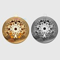 10pcs Wholesale 32mm Inner 24mm Muticolor Brass Round Hollow Floating Photo Locket Pendant For Essential Oils