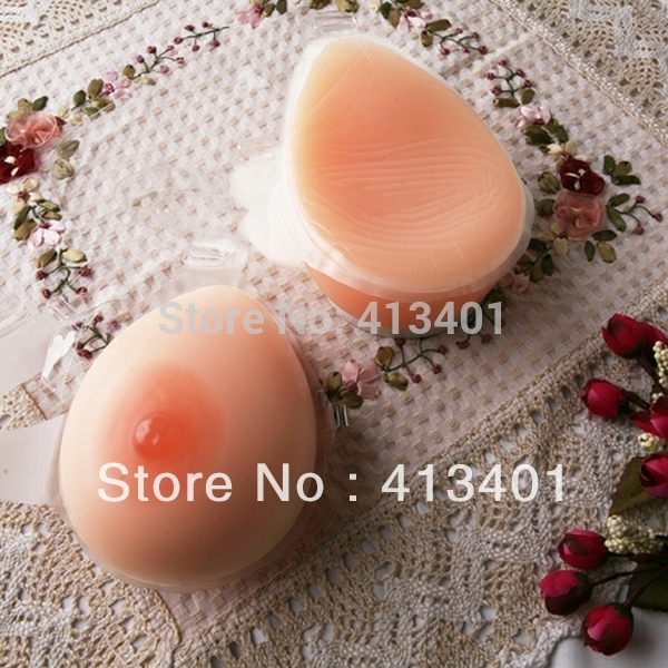 xinxinmei Free shipping!!! Realistic fake breast forms silicone for crossdresser 800g/pair wholesale and drop shipping<br><br>Aliexpress