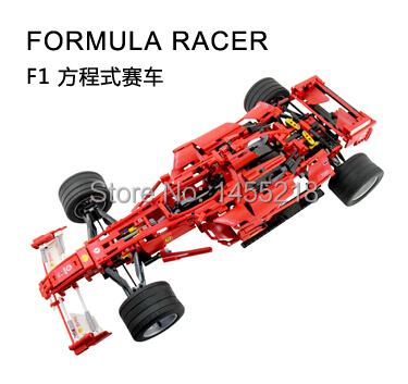 124Decool Formula Racing Car 1:8 Model No.3335 Building Blocks Sets Educational DIY Bricks Toys Children kids gift - Toy Captain store