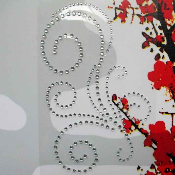 Decorative Rhinestone Stickers : Aliexpress buy wholesale clear color self adhesive