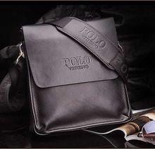 2014 new designers POLO VIDENG brand genuine leather black brown quality men s messenger shoulder handbag