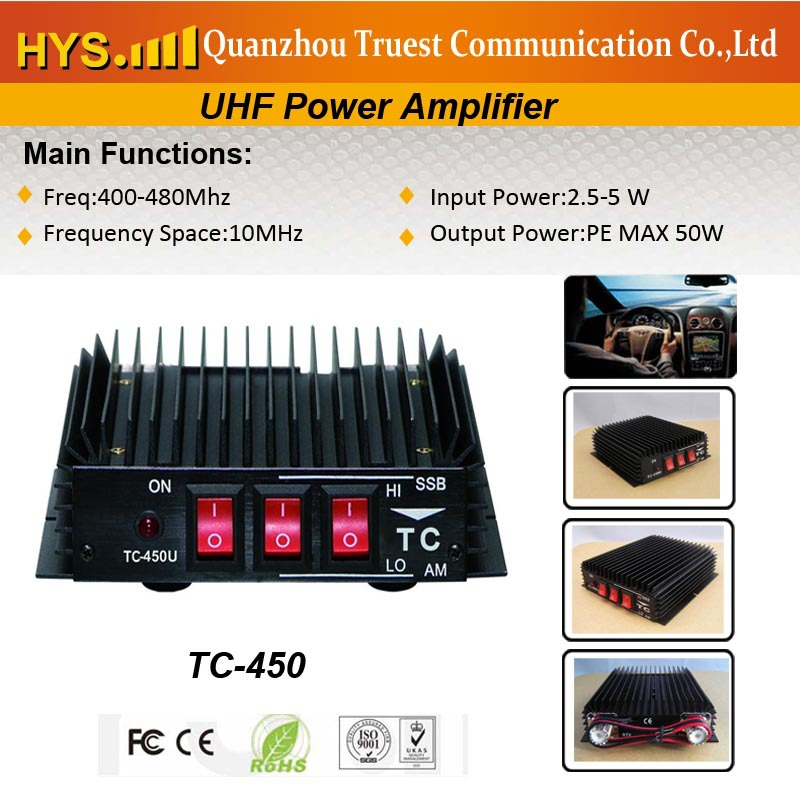 477Mhz, 50W Power Amplifier for Australia Market with CE Certificate(China (Mainland))