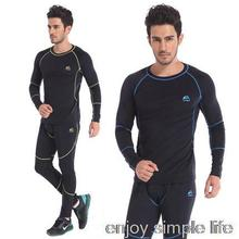 2015 New Arrival Men's Outdoor Sports chothes Thermal Underwear Sets Polartec+Lycra Long Johns M, L, XL, XXL Drop Shipping(China (Mainland))