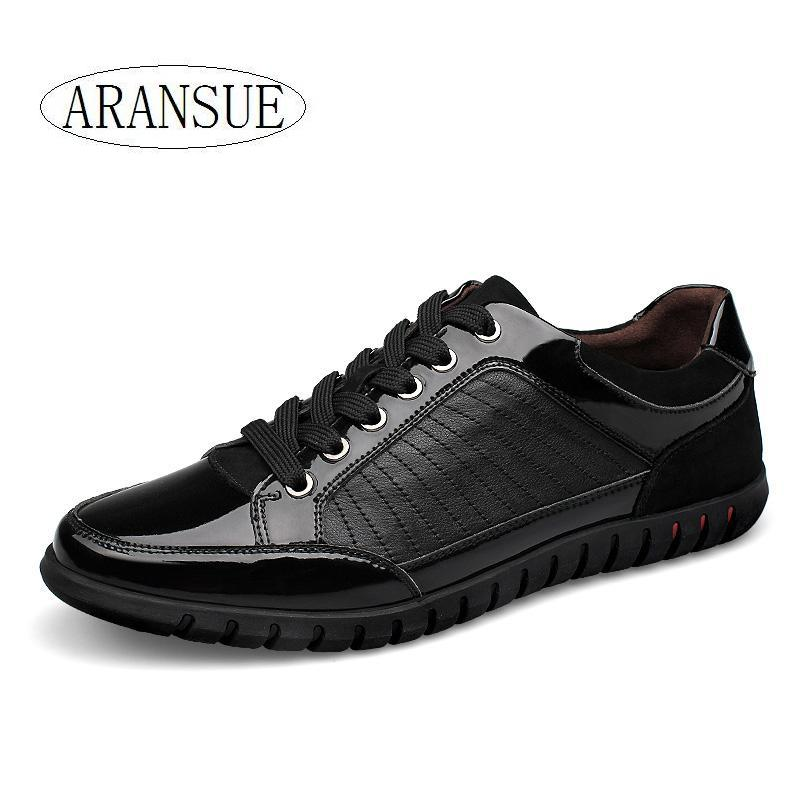 New arrival spring autumn 2016 classic british style plus size men shoes flats lace up casual leather shoes size 37-46,#0894(China (Mainland))