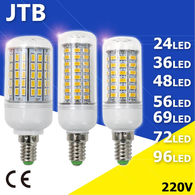 LED Corn Light 5730 SMD LED Corn Bulb Pipe Lighting 220V 5W 6W 7W 8W 9W 10W 15W Replace Fluorescent Lamp E14 Candle Bombillas(China (Mainland))