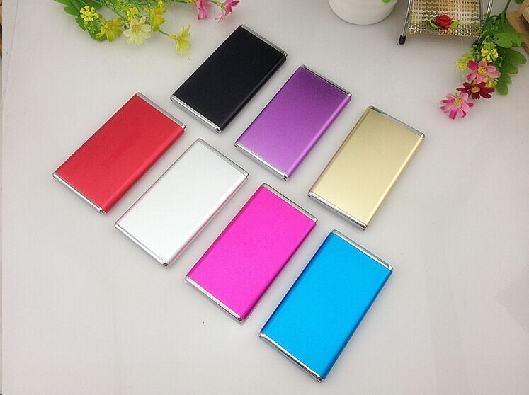 Metal case Ultra thin Power Bank 5600mah External Battery Power Charger Polymer battery for all Mobile Phone(China (Mainland))