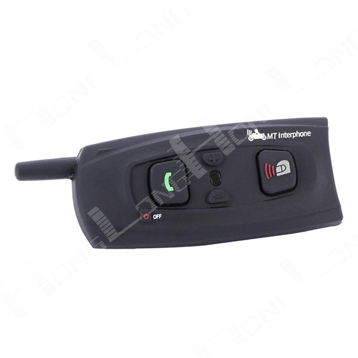 PROMOTION!!1xBT 1200M Bluetooth 3.0 Hi-Fi Interphone Bluetooth Motorcycle Intercom Helmet Headsets Intercom Free Shipping!!(China (Mainland))