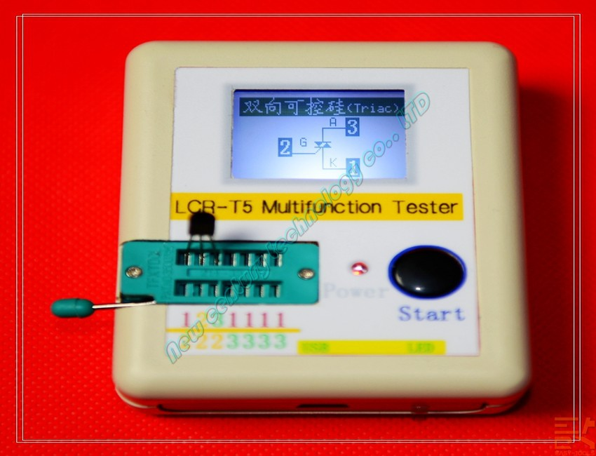 M328 TR5 ESR Meter Transistor Tester Diode TriodeCapacitance MOS/PNP/NPN L/C/R Capacitor + diode + inductor + ESR + SCR + mos(China (Mainland))