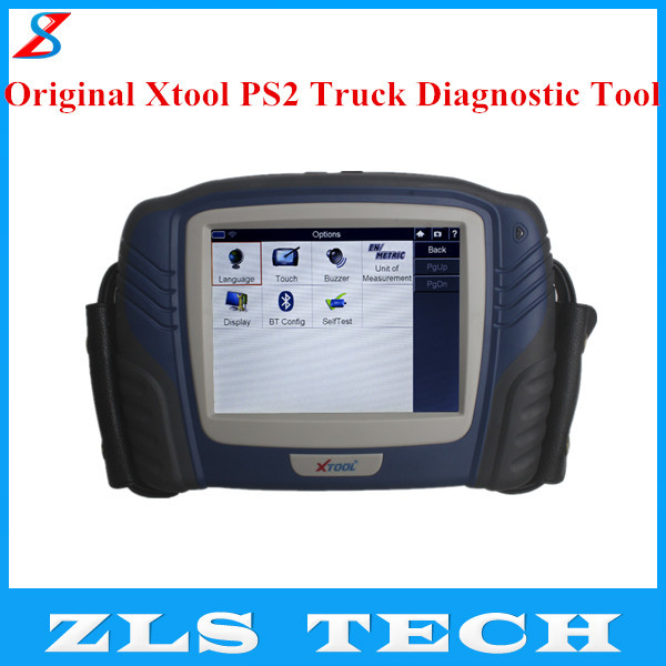 2015 Professional Xtool PS2 Truck Professional Diagnostic Tool Original Xtool PS2 with Express Shipping(China (Mainland))