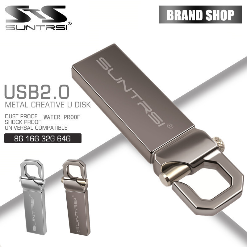 Suntrsi Hot USB Flash Drive real capacity pen Drive 64G 32G 2G 4G 8G 16G thumb pendrive usb 2.0 memory stick u disk free ship(China (Mainland))