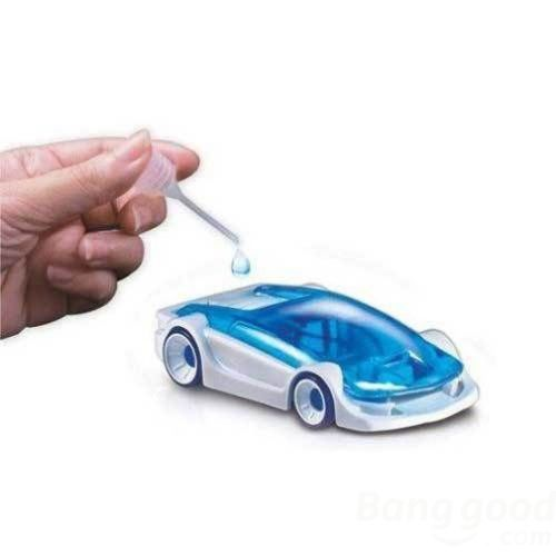 [buygood] DIY Green Energy Educational Salt Water Fuel Power Car Toys for Kids(China (Mainland))