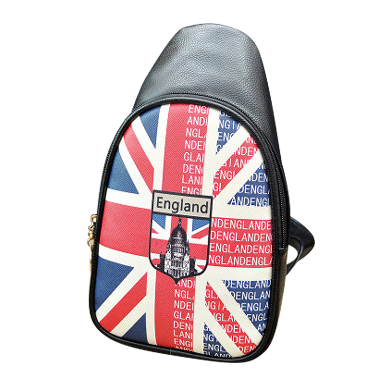 Fashion UK / US Flag Small Shoulder Bag Women Mens Crossbody Shoulder Messenger Bag Flag For Kids Chest Bag Eiffel Tower Desgin(China (Mainland))