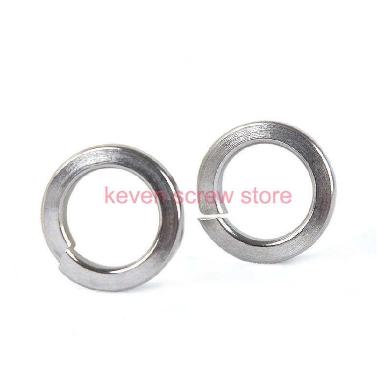free shipping 50pcs M12 304 Stainless Steel Spring Washer Split Lock Washers(China (Mainland))