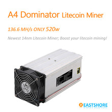 Scrypt Miner 136MH A4 Dominator Litecoin Miner for Scrypt Mining Substitution of A2 Terminator(China (Mainland))