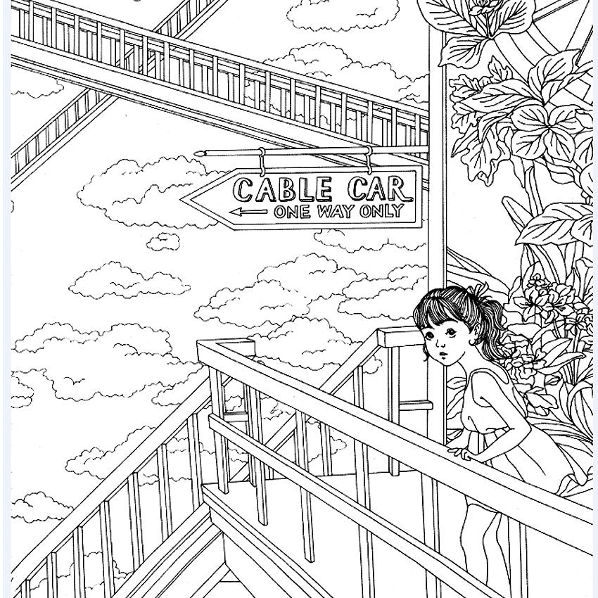 The Time Garden Coloring Book : Secret Garden Coloring Book Pdf Coloring Pages
