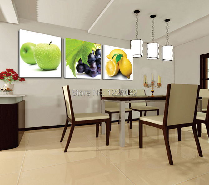 cucina tela pittura poster immagini a parete per soggiorno decorazione ...