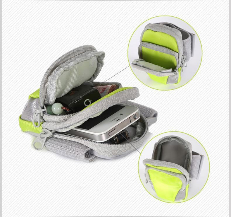 New Style Function Smart phone Sport Running Armband Holder Arm Band Bag Case for iphone 6 5S ipod touch for Samsung Universal(China (Mainland))