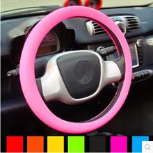 Car silicone steering wheel cover Kia Rio K2 K3 K5 K4 Cerato,Soul,Forte,Sportage R,SORENTO,Mohave,OPTIMA - CarClub store