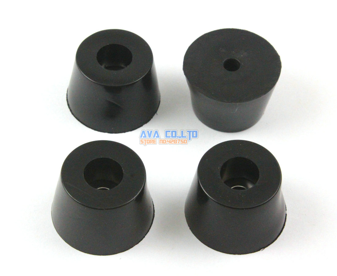 12 Pieces 32x25x20mm Rubber Feet Pad Furniture Chair Leg Protector Glide Pad