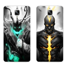 OnePlus 2 Phone Case One Plus 3 Shell Smartphone 5.5 inch Inch Ultra Slim Transparent Cover Soft Silicon Dark LOL Pattern Skin - WISAP-IColorCase Store store
