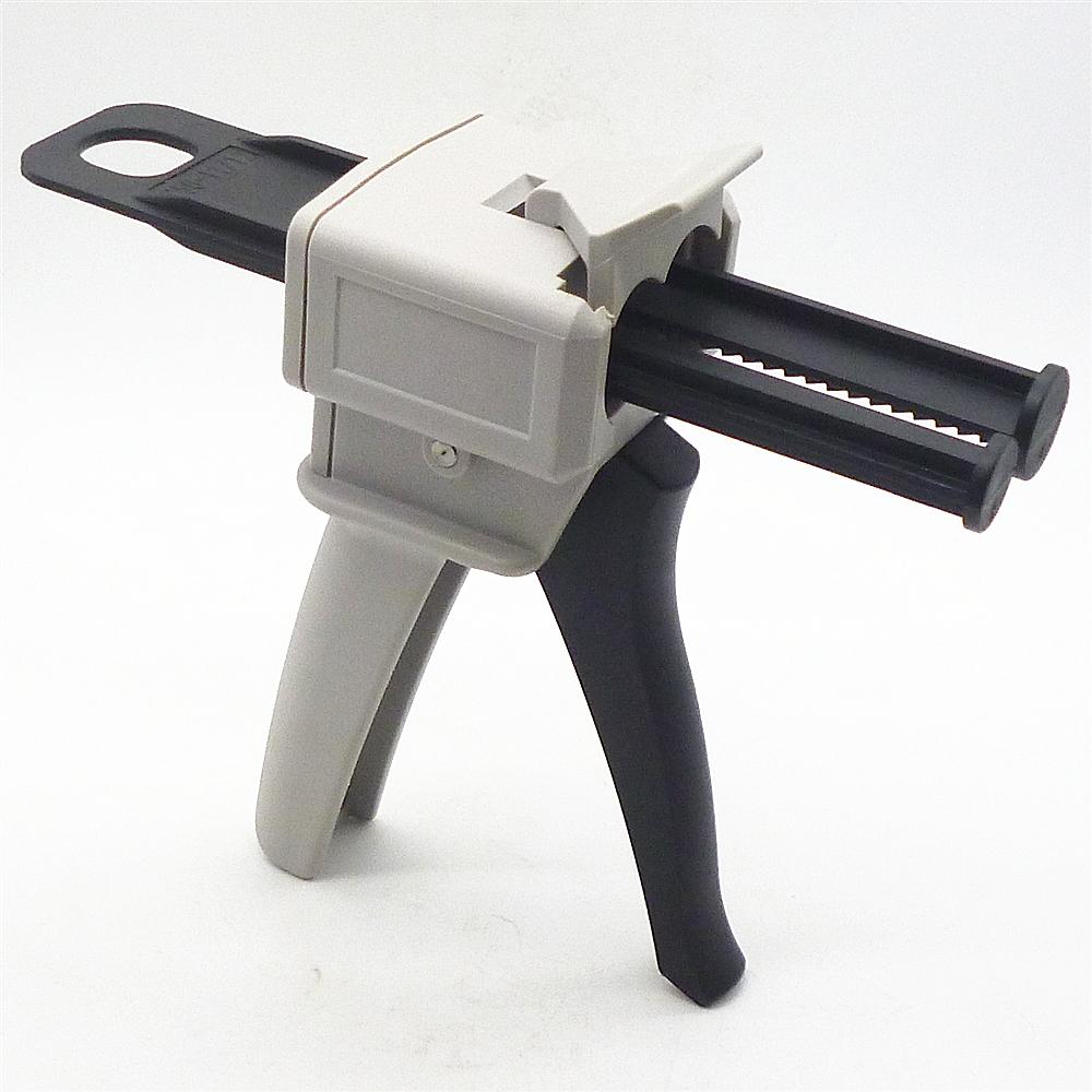 2 Part Epoxy Gun : Ab epoxy glue gun applicator adhensive ml mixed