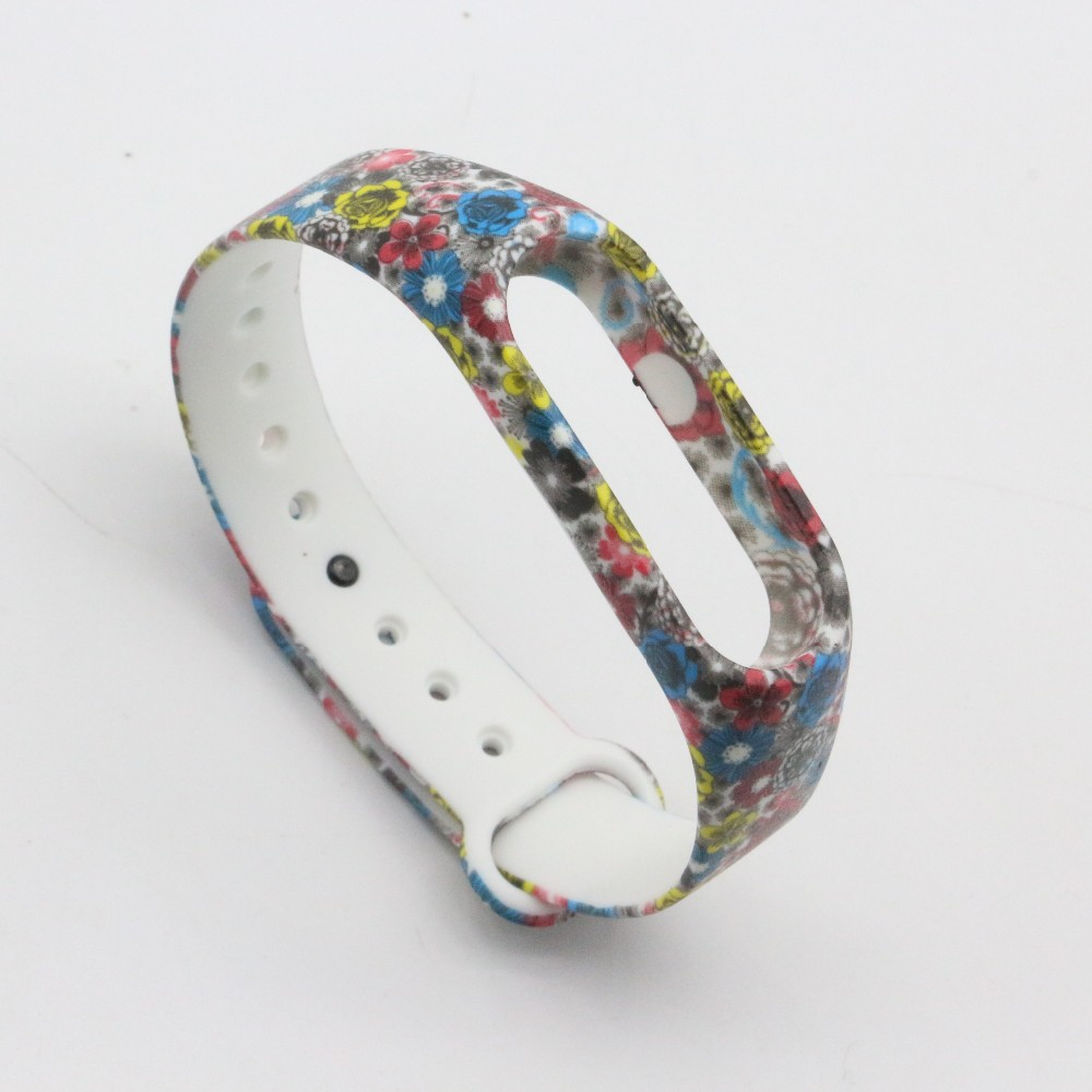(XM2HS) SMP-00328 Replace Strap for Xiaomi Mi Band 2,Silicone Wristbands for Mi Band 2 Accessories