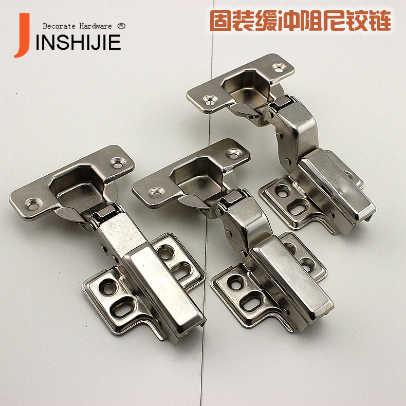 Jin Shijie damping / hydraulic cushion furniture cabinet door hinge spring hinge pipe being attached to aircraft(China (Mainland))