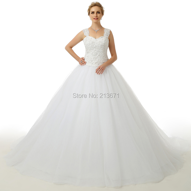 Buy new real photo wedding dress 2015 for Beautiful puffy wedding dresses