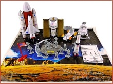 diy assembling space shuttle model space navigation satellite rocket(China (Mainland))