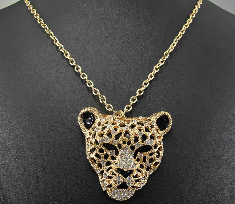 2013 Women Fashion The design inspiration of designer new The lion Necklaces free shipping q327(China (Mainland))