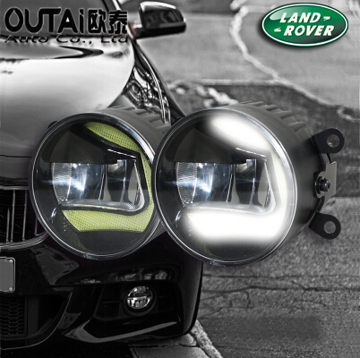 4 inch 18W Front Bumper Convex Lens Led Fog Light For LandRover Freelander 2 LED Driving Lamp<br><br>Aliexpress