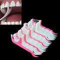 50pcs Interdental Brush Teeth Stick Tooth Picks Dental Floss
