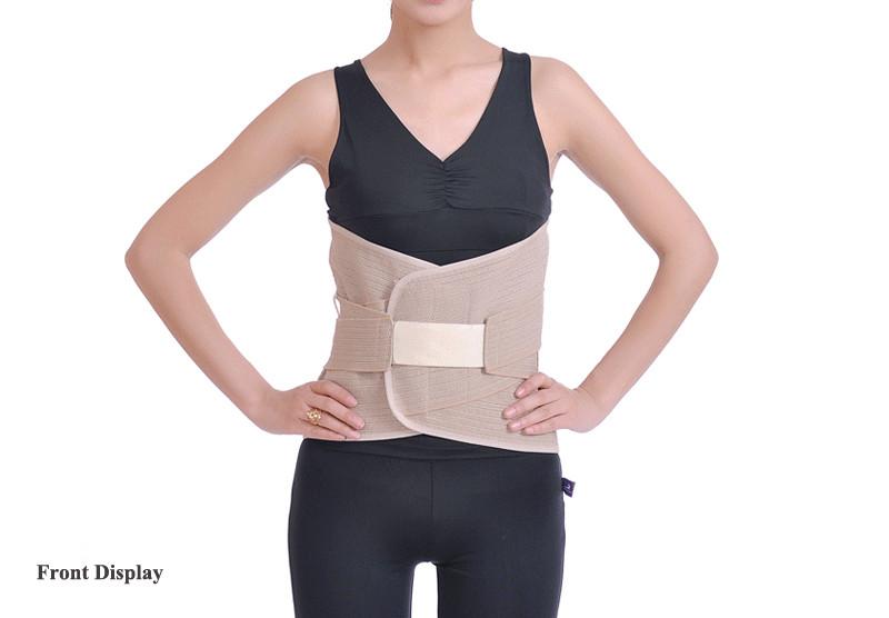 Tcare1 Pcs Waist Health Care Belt keep warm protect lumbar Slimming Lower Back Support Waist Lumbar Brace Backache Pain Relief cheap
