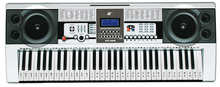 New Music Keyboard Electronic Organ Note Clear Stickers Set For 61 54 49 Keys Free Shipping GYH(China (Mainland))