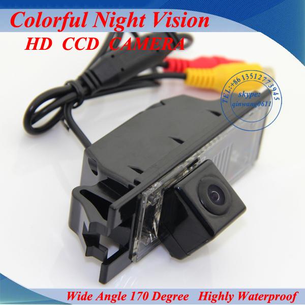 Back up Security CCD Reverse Camera High Resolution Parking NTSC Wide Angle Waterproof Cam for Hyundai IX35 Tucson Car GPS Navi(China (Mainland))