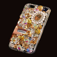Buy 3D Rhinestones Hotfix Phone Cases Oneplus 2 One Plus Two Jewelry Coque Fox Head Perfume Bottle N5 Decor Cover Pink Funda for $5.08 in AliExpress store
