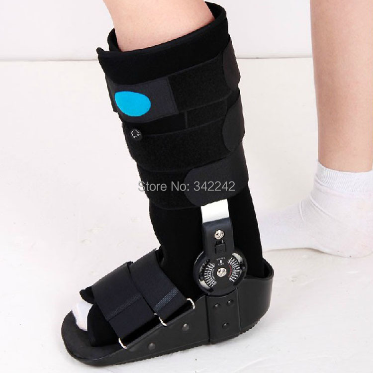 Fracture healing/ankle fixed orthotics armor with a broken ankle rehabilitation