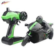 2.4G RC Motorcycle  Remote Control Unique Leaning Action Lightning Motorcycle With Bright LED Headlights Rechargeable Function(China (Mainland))