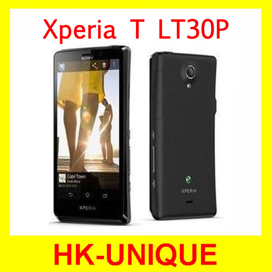 Sony Xperia T LT30P Oiginal Unlocked Android OS GPS WIFI 13MP Camera Dual Core Mobile Phone Free Shipping(China (Mainland))
