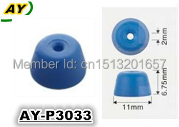 200pieces TOP quality Fuel injector service kit plastic parts cap ,pintle cap for AY-P3033 (11*6.75*2mm)(China (Mainland))