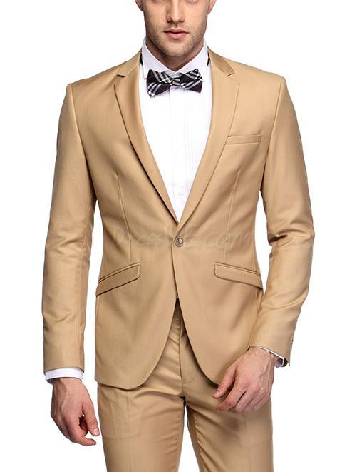 High Quality Slim Fit Khaki Suit-Buy Cheap Slim Fit Khaki Suit