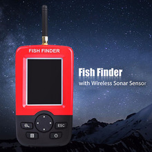 Outlife Smart Portable Fish Finder Depth Finder with Wireless Sonar Sensor echo sounder Fishfinder for Lake Sea Fishing(China (Mainland))
