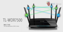 1750Mbps 11AC Dual Band Wireless WIFI Router Repeater Extender Gigabit Router TP-LINK TL-WDR7500 2.4GHz+5GHz For Home/Enterprise(China (Mainland))