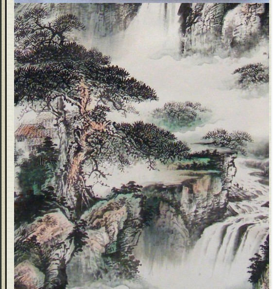 Chinese Model Calligraphy High Definition Pure Handpainted