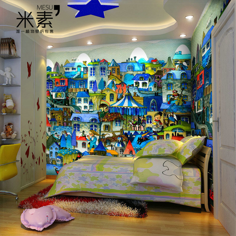 Meters mural child real eco friendly romantic decoration for Decoration cost per m2