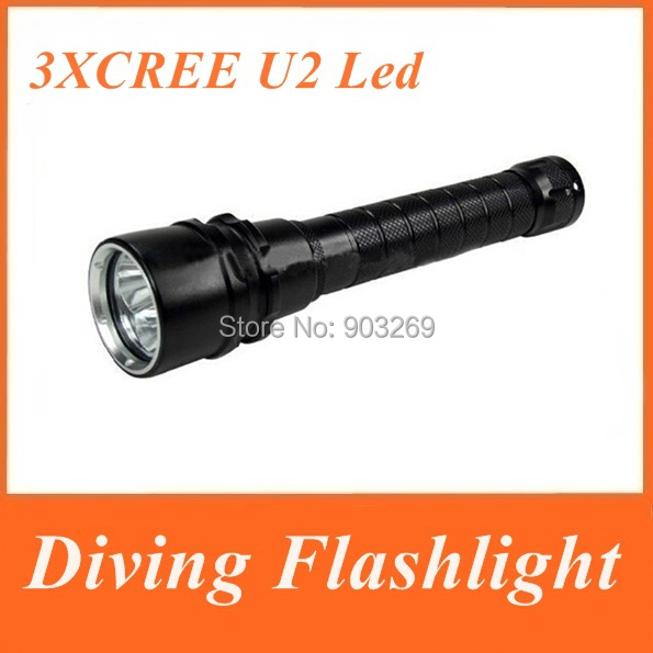 Фонарик Trustfire 3 x 3000 Cree xml/t6 , 2 18650 T6 Diving фонарик led flashlight skyray 5 x t6 xml 3 5000lm 18650 xml t6