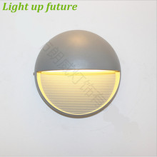 Modern Creative IP55 5W Outdoor Wall Lamp for Garden Entrance AC 80-265V Waterproof Porch Light 2070(China (Mainland))