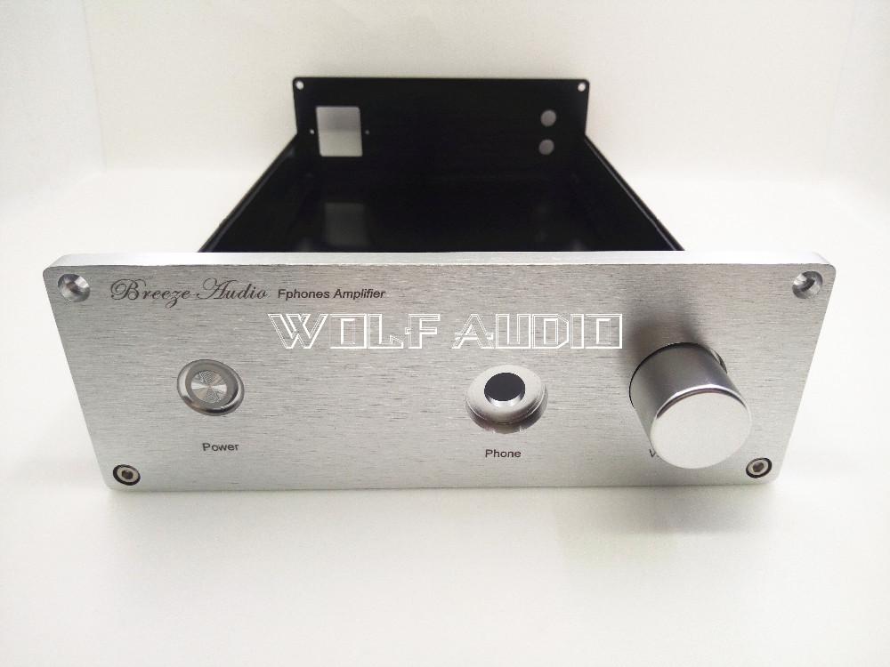 1907A  Full Aluminum Headphone Amplifier Chassis  Preamplifier Enclosure/ Mini AMP Case /Power Amplifier Box